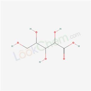 Molecular Structure of 488-30-2 (ARABINONIC ACID, D-)