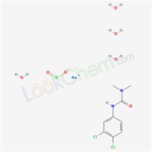 CAS NO:8027-85-8 Ureabor Molecular Structure