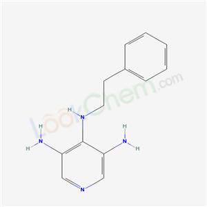 4057-55-0,N4-phenethylpyridine-3,4,5-triamine,