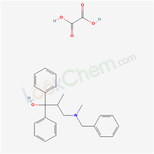 3-(benzyl-methyl-amino)-2-methyl-1,1-diphenyl-propan-1-ol; oxalic acid product picture