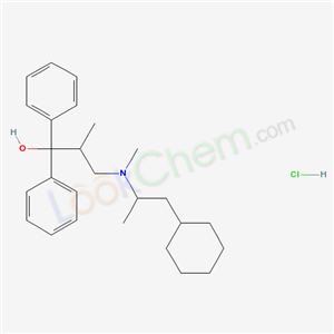 Benzhydrol, alpha-(2-((cyclohexyl-1-methylethyl)methylamino)-1-methylethyl)-, hydrochloride product picture