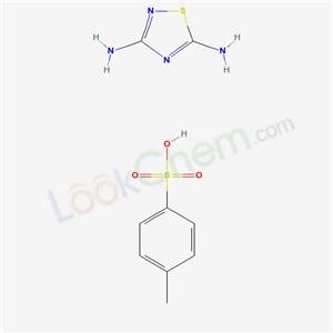 5380-27-8,1,2,4-Thiadiazole, 3,5-diamino-, p-toluenesulfonate,