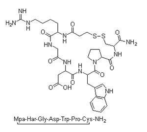 Molecular Structure of 148031-34-9 (Eptifibatide)