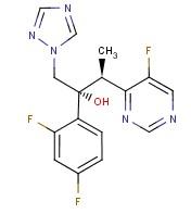 Molecular Structure of 137234-62-9 (Voriconazole)