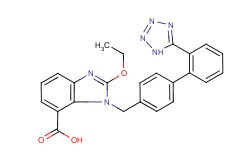 Molecular Structure of 139481-59-7 (Candesartan)