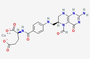 Molecular Structure of 80433-71-2 (Calcium levofolinate)