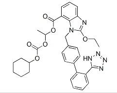 Molecular Structure of 145040-37-5 (Candesartan cilexetil)