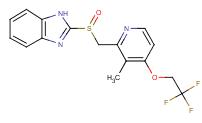 Molecular Structure of 103577-45-3 (Lansoprazole)