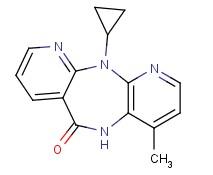 Molecular Structure of 129618-40-2 (Nevirapine)