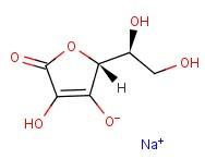 Chemical formula for sodium ascorbate