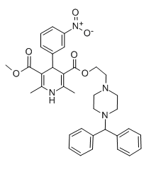 Molecular Structure of 120092-68-4 (Manidipine)