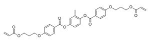 1,4-Bis-[4-(3-acryloyloxypropyloxy)benzoyloxy]-2-methylbenzene(174063-87-7)