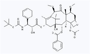 183133-96-2,Cabazitaxel,Cabazitaxelum;Jevtana;RPR 116258A;TXD 258;Taxoid XRP6258;UNII-51F690397J;XRP6258;[2aR[2aalpha,4beta,4abeta,6beta,9alpha(2R,3S),11beta,12alpha,12aalpha,12balpha]]-12b-Acetoxy-9-[3-(tert-butoxycarbonylamino)-2-hydroxy-3-phenylpropionyloxy]-12-(benzoyloxy)-11-hydroxy-4,6-dimethoxy-4a,8,13,13-tetramethyl-2a,3,4,4a,5,6,9,10,11,12,12a,12b-d;TAX-258;RPR-116258A;{((tertbutoxy)carbonyl)amino}-2-hydroxy-3-phenylpropanoate1-hydroxy-7beta,10beta-dimethoxy-9-oxo-5beta,20-epoxytax-11-ene-2alpha,4,13alpha-triyl 4-acetate 2-benzoate 13-((2R,3S)-3-;