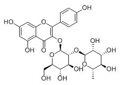Molecular Structure of 32602-81-6 (Kaempferol 3-neohesperidoside)
