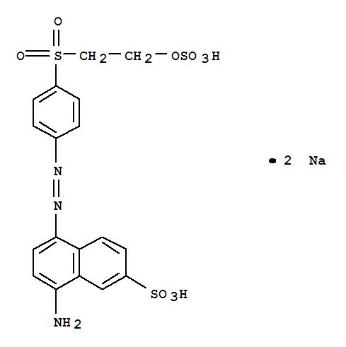 125274-26-2,2-Naphthalenesulfonicacid, 8-amino-5-[2-[4-[[2-(sulfooxy)ethyl]sulfonyl]phenyl]diazenyl]-, sodiumsalt (1:2),2-Naphthalenesulfonicacid, 8-amino-5-[[4-[[2-(sulfooxy)ethyl]sulfonyl]phenyl]azo]-, disodium salt(9CI)