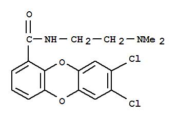 137944-76-4,Dibenzo[b,e][1,4]dioxin-1-carboxamide,7,8-dichloro-N-[2-(dimethylamino)ethyl]-,
