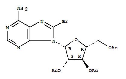 15830-53-2,Adenine, 9-b-D-arabinofuranosyl-8-bromo-,2',3',5'-triacetate (8CI),NSC106753
