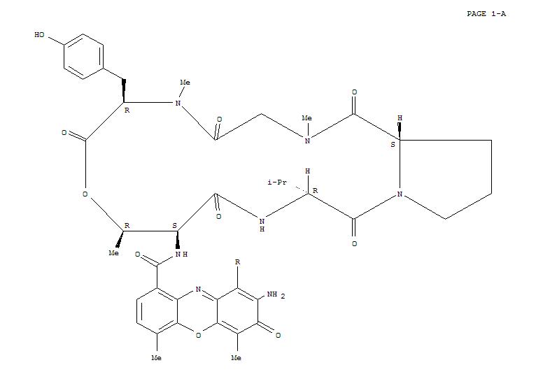 182267-36-3,Actinomycin D,5A-(N-methyl-D-tyrosine)-5B-(N-methyl-D-tyrosine)- (9CI),