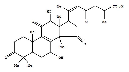 110241-23-1,Lanosta-8,20(22)-dien-26-oicacid, 7,12-dihydroxy-3,11,15,23-tetraoxo-, (7b,12b,20E)- (9CI),Ganoderenicacid E