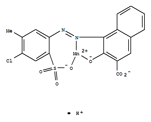 Synonyms:IsolBona Red N 6R (8CI); Manganate(1-),