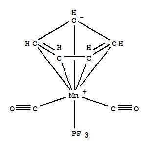 12275-47-7,Manganese, dicarbonyl(h5-2,4-cyclopentadien-1-yl)(phosphoroustrifluoride)-,Manganese,dicarbonyl-p-cyclopentadienyl(phosphorustrifluoride)- (8CI); Phosphorous trifluoride, manganese complex; Manganese,dicarbonyl-p-cyclopentadienyl(trifluorophosphine)-