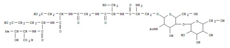 143896-41-7,Supprescin B(Mycosphaerella pinodes) (9CI),SupprescinB; Supprescin B (Mycosphaerella pinodes peptide moiety),1-[O-[2-(acetylamino)-2-deoxy-4-O-b-D-galactopyranosyl-a-D-galactopyranosyl]-L-serine]-