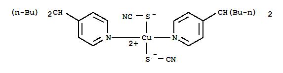 15375-91-4,Copper,bis[4-(1-butylpentyl)pyridine]bis(thiocyanato-S)- (9CI),Pyridine,4-(1-butylpentyl)-, copper complex; NSC 2005