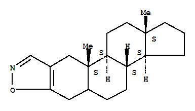 24379-62-2,Androst-2-eno[2,3-d]isoxazole(8CI,9CI),1H-Cyclopenta[7,8]phenanthro[3,2-d]isoxazole,androst-2-eno[2,3-d]isoxazole deriv.; 1H-Cyclopenta[7,8]phenanthro[3,2-d]isoxazole,2,3,3a,3b,4,5,5a,6,10,10a,10b,11,12,12a-tetradecahydro-10a,12a-dimethyl-,[3aS-(3aa,3bb,10ab,10ba,12ab)]-; [3aS-(3aa,3bb,10ab,10ba,12ab)]-2,3,3a,3b,4,5,5a,6,10,10a,10b,11,12,12a-Tetradecahydro-10a,12a-dimethyl-1H-cyclopenta[7,8]phenanthro[3,2-d]isoxazole