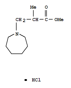 1H-Azepine-1-propanoicacid, hexahydro-a-methyl-,methyl ester, hydrochloride (1:1)