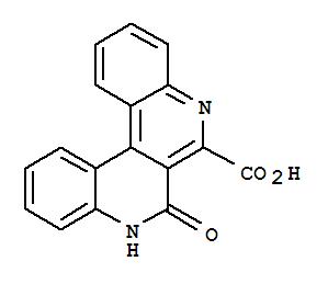 4694-55-7,Dibenzo[c,f][2,7]naphthyridine-6-carboxylicacid, 7,8-dihydro-7-oxo-,Dibenzo[c,f][2,7]naphthyridine-6-carboxylicacid, 7-hydroxy- (7CI,8CI)