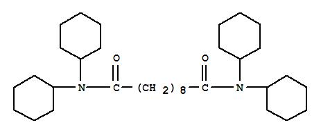5426-13-1,Decanediamide,N1,N1,N10,N10-tetracyclohexyl-,Decanediamide,N,N,N',N'-tetracyclohexyl- (8CI,9CI); NSC 14013