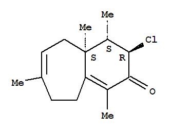 57567-00-7,2H-Benzocyclohepten-2-one,3-chloro-3,4,4a,5,8,9-hexahydro-1,4,4a,7-tetramethyl-, (3R,4S,4aS)-rel-(-)-,2H-Benzocyclohepten-2-one,3-chloro-3,4,4a,5,8,9-hexahydro-1,4,4a,7-tetramethyl-, (3a,4b,4ab)-(-)-; Perforenone B
