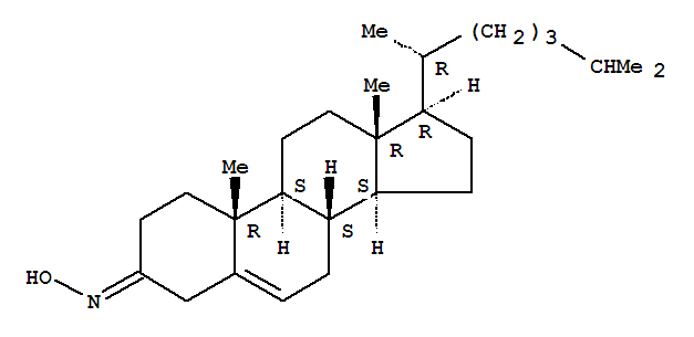 63085-02-9,Cholest-5-en-3-one,oxime,NSC 21312