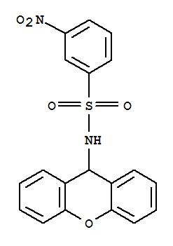 6331-75-5,Benzenesulfonamide,3-nitro-N-9H-xanthen-9-yl-,Benzenesulfonamide,m-nitro-N-xanthen-9-yl- (8CI); NSC 37340