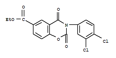 6978-69-4,2H-1,3-Benzoxazine-6-carboxylicacid, 3-(3,4-dichlorophenyl)-3,4-dihydro-2,4-dioxo-, ethyl ester,