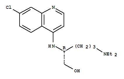 77529-96-5,1-Pentanol,2-[(7-chloro-4-quinolinyl)amino]-5-(diethylamino)-, (R)- (9CI),NSC 295634