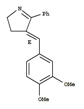 79491-35-3,2H-Pyrrole,4-[(3,4-dimethoxyphenyl)methylene]-3,4-dihydro-5-phenyl-, (E)- (9CI),