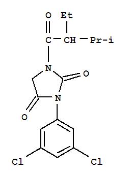 90815-21-7,2,4-Imidazolidinedione,3-(3,5-dichlorophenyl)-1-(2-ethyl-3-methyl-1-oxobutyl)-,