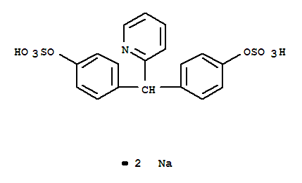 Molecular Structure of 10040-45-6 (Sodium picosulfate)