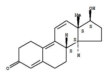 Molecular Structure of 10161-33-8 (Trenbolone)