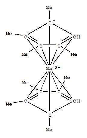 Molecular Structure of 101932-75-6 (Manganocene,1,1',2,2',3,3',4,4'-octamethyl- (9CI))