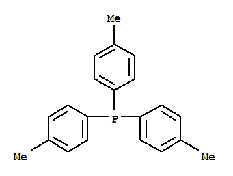 Molecular Structure of 1038-95-5 (Phosphine,tris(4-methylphenyl)-)