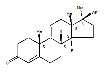 Androsta-4,9(11)-dien-3-one,17-hydroxy-17-methyl-, (17b)- product picture
