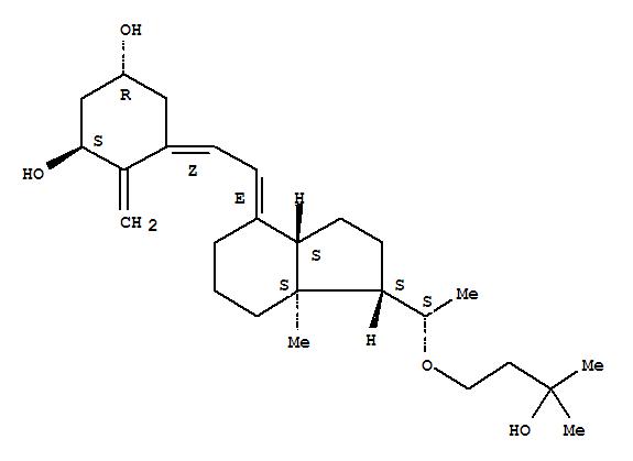 Molecular Structure of 103909-75-7 (Maxacalcitol)