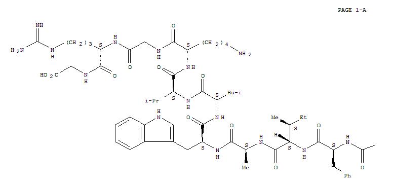 106612-94-6,7-37-Glucagon-likepeptide I (human),GLP-1;Glucagon like peptide 1 (7-37);Glucagon-relatedpeptide 1 (Rana catesbeiana), 3-L-glutamicacid-10-L-valine-16-glycine-17-L-glutamine-23-L-isoleucine-24-L-alanine-27-L-valine-31-glycine-32-de-L-lysine-;