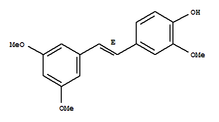 4-[(e)-2-(3,5-dimethoxyphenyl)ethenyl]-2-methoxy-phenol