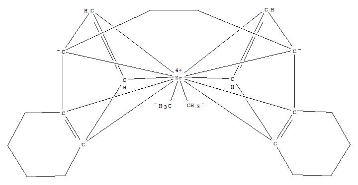Zirconium,[(7aS,7'aS)-1,2-ethanediylbis[(1,2,3,3a,7a-h)-4,5,6,7-tetrahydro-1H-inden-1-ylidene]]dimethyl-(9CI)