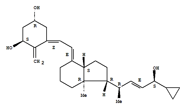Molecular Structure of 112965-21-6 (Calcipotriene)