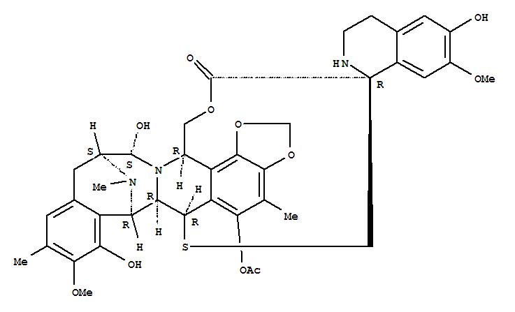 Molecular Structure of 114899-77-3 (Spiro[6,16-(epithiopropanoxymethano)-7,13-imino-12H-1,3-dioxolo[7,8]isoquino[3,2-b][3]benzazocine-20,1'(2'H)-isoquinolin]-19-one,5-(acetyloxy)-3',4',6,6a,7,13,14,16-octahydro-6',8,14-trihydroxy-7',9-dimethoxy-4,10,23-trimethyl-,(1'R,6R,6aR,7R,13S,14S,16R)-)