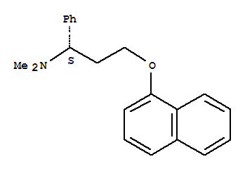 Molecular Structure of 119356-77-3 (Dapoxetinehydrochloride)